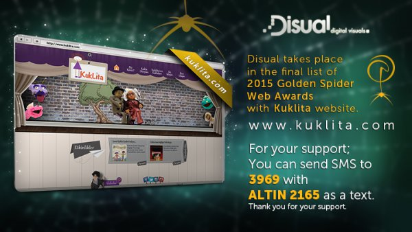 Disual takes place in the final list of 2015 Golden Spider Web Awards