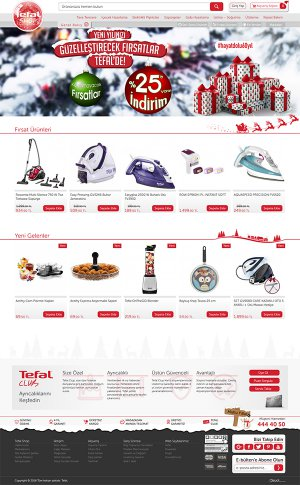 Tefal Turkey Official Website - tefalshop.com.tr
