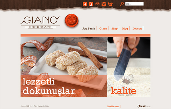 Giano Chocolate - giano.com.tr